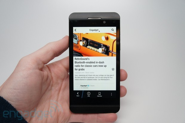 BlackBerry launches the Z10 in India for a cool $800