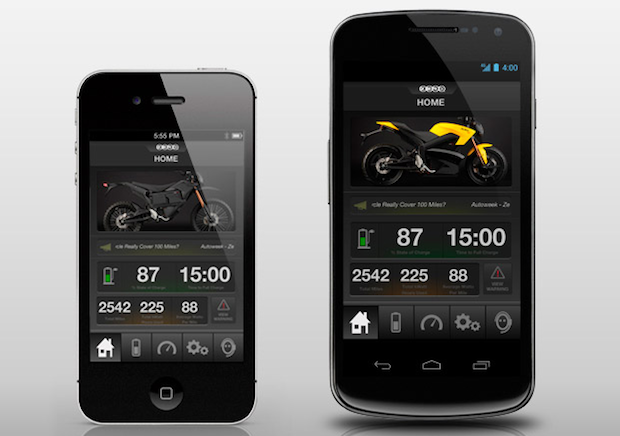 DNP Zero Motorcycle releases app for iOS and Android