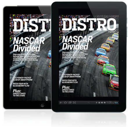 Distro Issue 81 The hunt for tech at NASCAR's Daytona 500