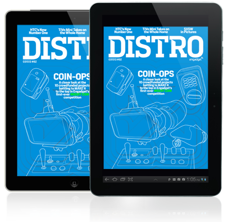 Distro Issue 82 A closer look at the finalists for Engadget's inaugural Insert Coin competition