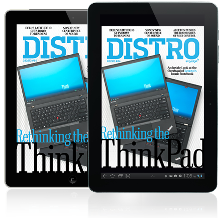 Distro Issue 84 The inside story behind the retooled Lenovo ThinkPad