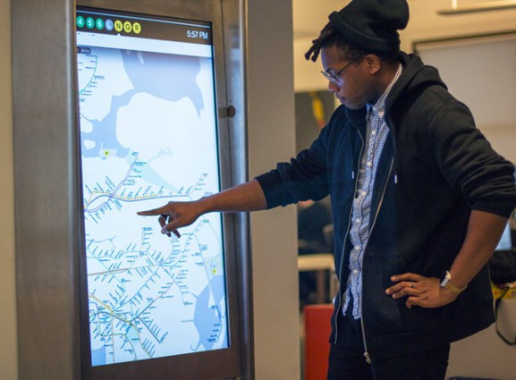 NYC MTA to install 90 futuristic touchscreen kiosks across the subway