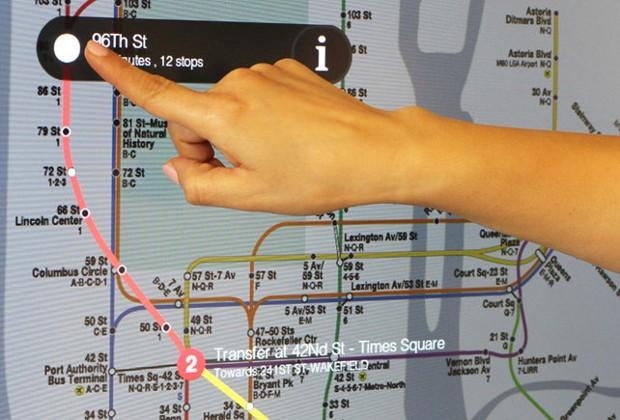 NYC subway system to install 90 futuristic touchscreen kiosks across the city