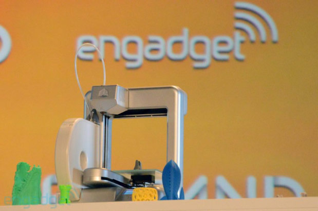 3D Printing Goes Mainstream liveblog