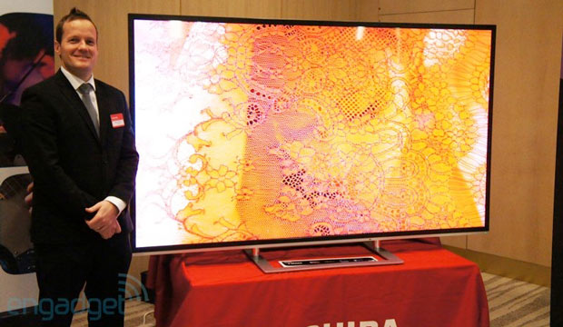 DNP Toshiba showcases 2013 AV range eyeson
