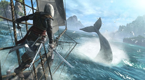 Assassin's Creed 4 Black Flag swabbing decks on Wii U, PlayStation 3  4, PC, Xbox 360 and next Xbox