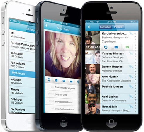 Addappt goes public, gives iOS users group contacts and messaging