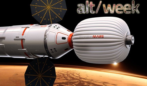 Alt-week 3.2.13: A mission to Mars, robosparrow and facial recognition in fertility treatment