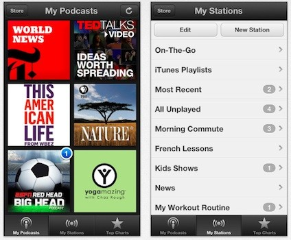 Apple overhauls iOS Podcasts app, adds custom stations