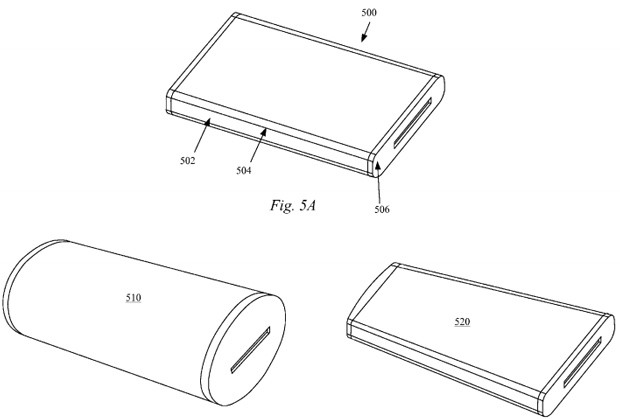 apple patent filing describes phone concept with wrap