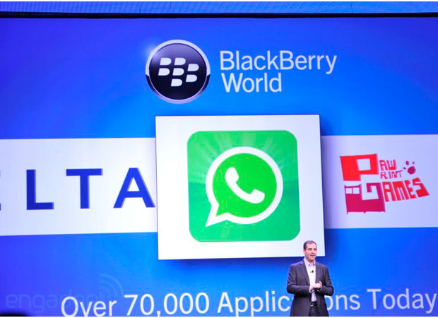 WhatsApp lands on BlackBerry 10, offers Z10 owners a BBM alternative