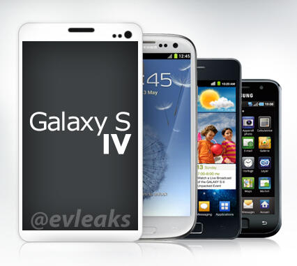 samsung galaxy s iv design specs potentially leaked on twitter samsung galaxy s iv event confirmed for march 14th again 426x381