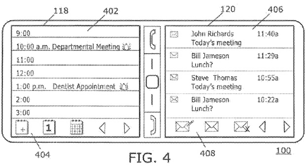 BlackBerry patent application shows us the dualscreen phone that thankfully never was