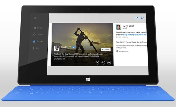 Twitter releases official Windows 8 app
