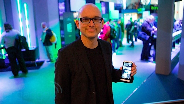 The Engadget Interview VP of design Scott Croyle talks HTC One at MWC 2013