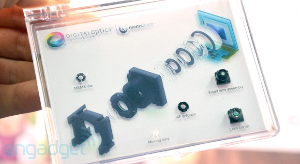 DigitalOptics' fast MEMS lens actuator enables Lytrolike postcapture refocus video