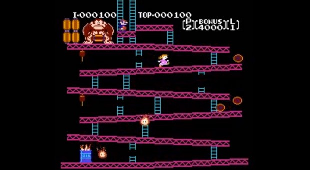 Donkey Kong hack gives Pauline the central role, 32 years later video
