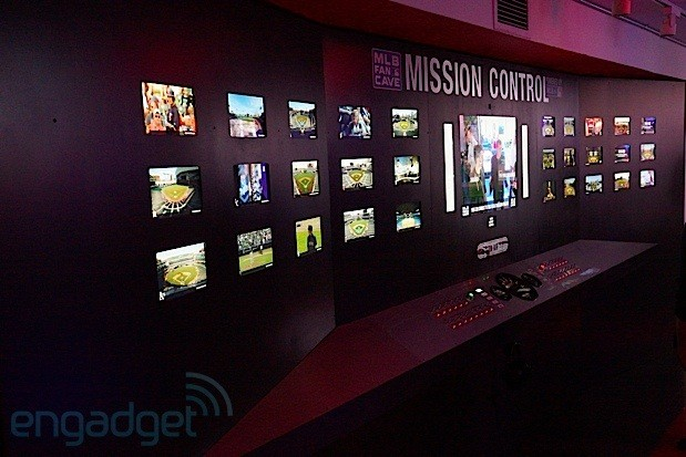 Breakfast NY's mission control center merges MLB info with NASAflair, uses 20feet of switches and screens