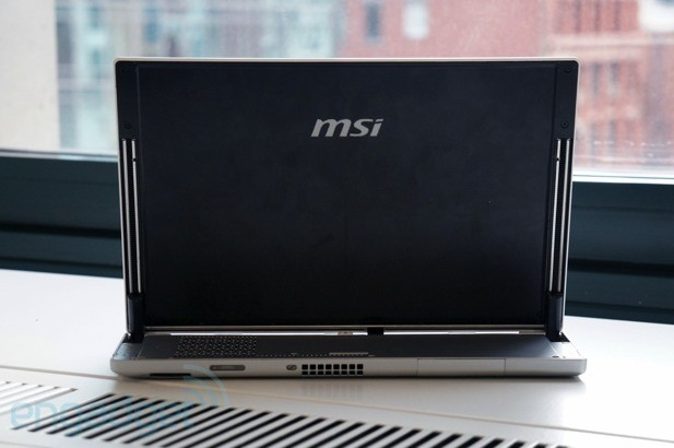 DNP MSI Slider S20 review MSI's flagship Windows 8 Ultrabook has a flawed design