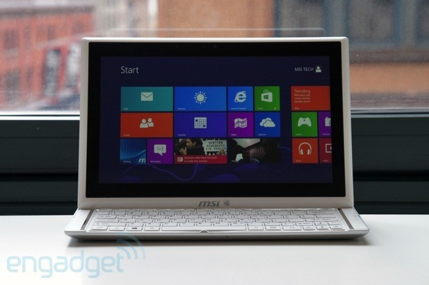 MSI Slidebook S20 review: MSI's flagship Windows 8 Ultrabook has a flawed design