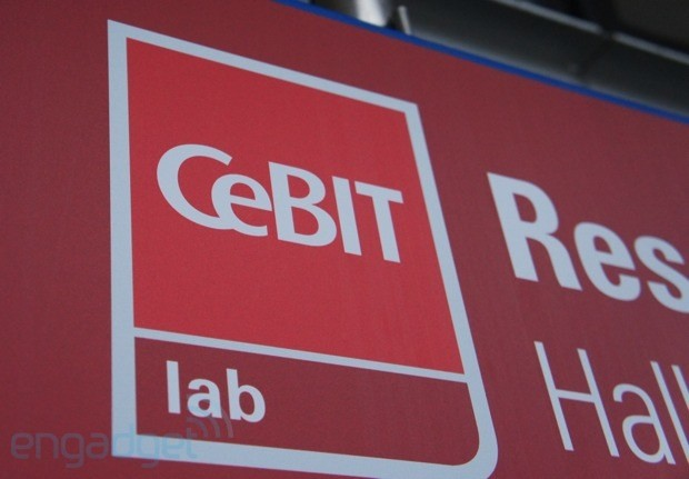 We're live from CeBIT 2012 in Hannover!