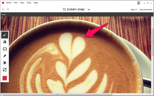 DNP Skitch 20 for Windows Desktop refines layout and performance, enhances sharing