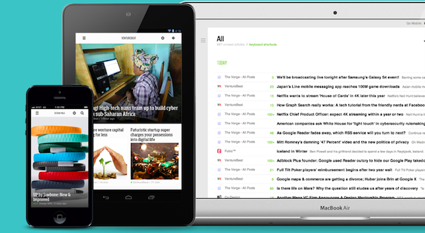 DNP 500,000 Google Reader users defect to Feedly
