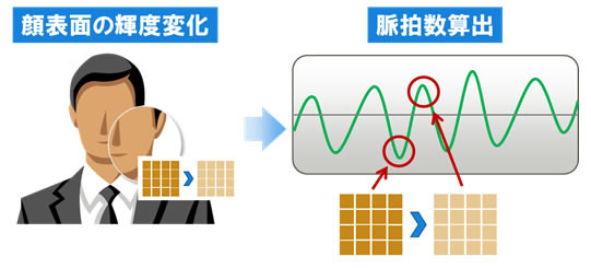 Fujitsu software uses a smartphone&#8217;s camera to measure your pulse