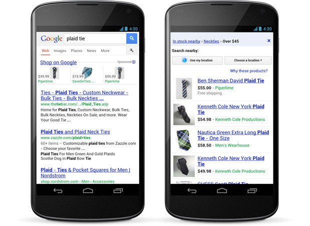 Google Shopping ads go mobile for especially impulsive buyers