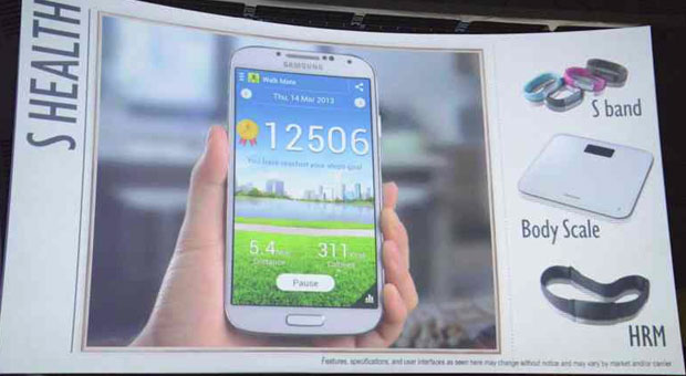 Samsung Galaxy S 4 accessories cases and calorie counting