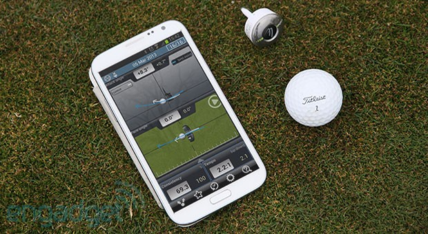 3BaysGSA Putt a Bluetooth golf gadget that puts eyes in your putter hands on