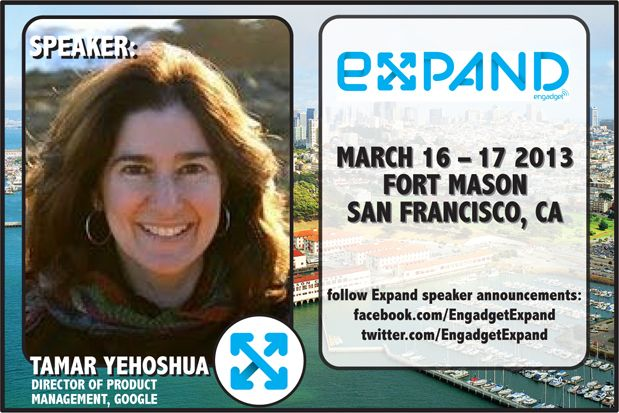 Live from Expand A Conversation With Google's Tamar Yehoshua