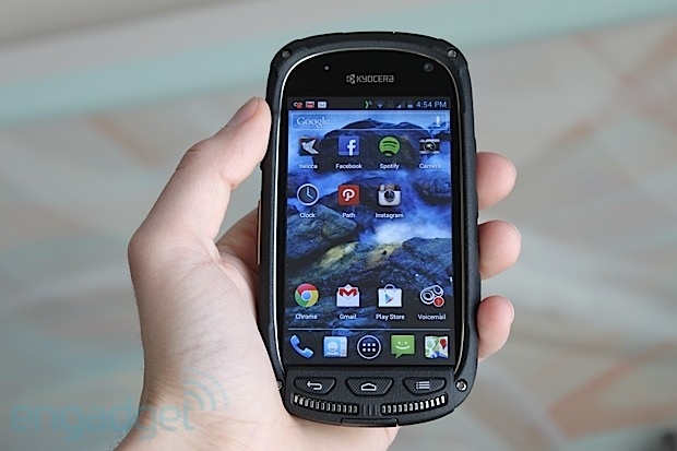 Kyocera Torque review: a rugged phone delivering superior sound