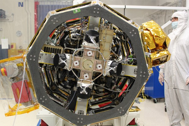 NASA integrates its first laser communications system into LADEE lunar satellite