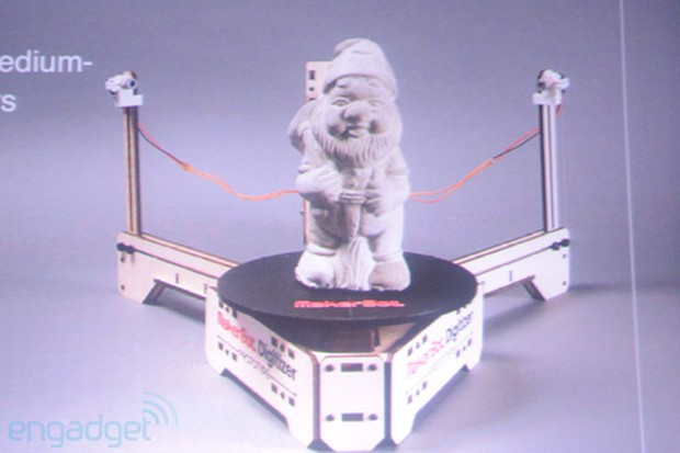 MakerBot unveils prototype Digitizer Desktop 3D Scanner, promises easier 3D printing