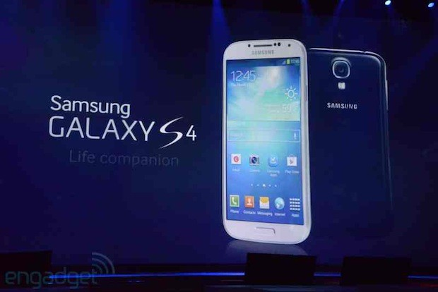 Samsung Galaxy S 4 launching on 327 carriers in 155 countries, starting at the end of April