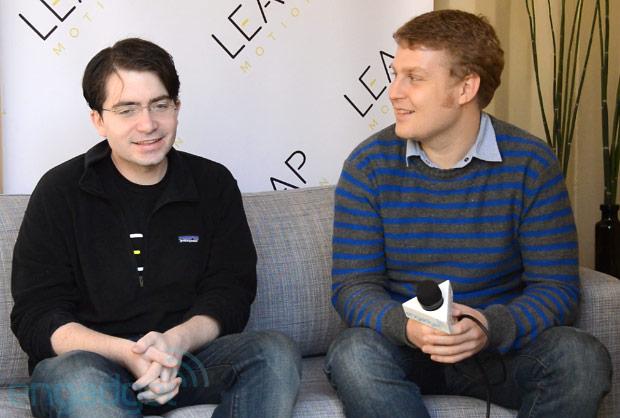 The Engadget Interview Leap Motion CEO Michael Buckwald