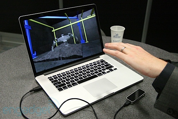 DNP Controlling a NASA rover with the Leap Motion controller and beyond video