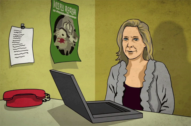 Engadget Animated Mary Roach discusses the impact of space travel on the human body