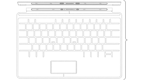 Microsoft lands design patents for Surface tablet's Touch Cover keyboard