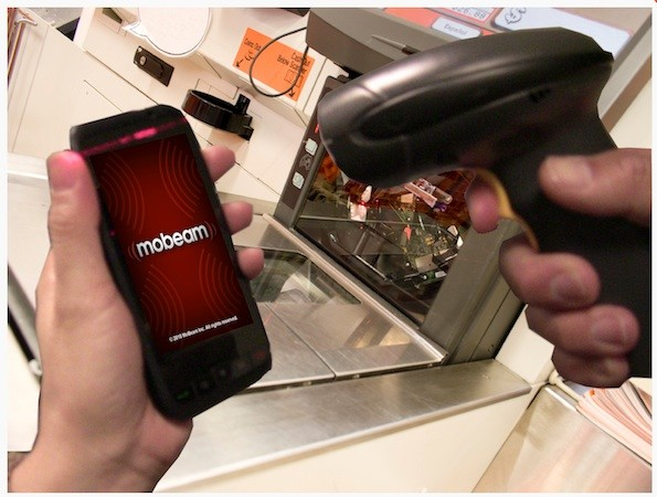 Samsung partners with Mobeam to offer scannable bar codes on the Galaxy S IV