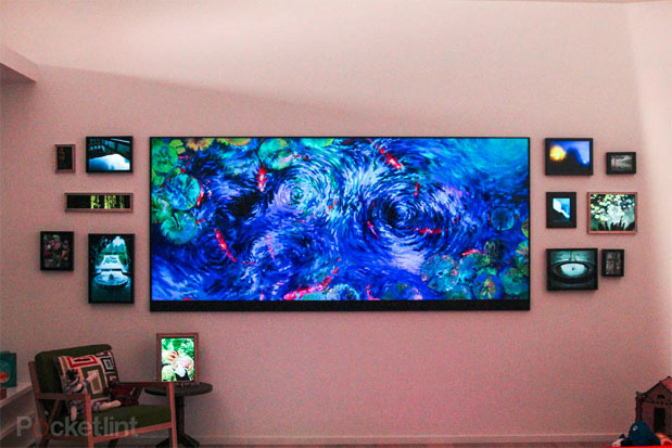 Visualized Microsoft's 120inch homegrown television
