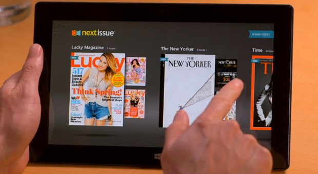 Next Issue Media arrives for Windows 8, puts subscriptions on your Surface video
