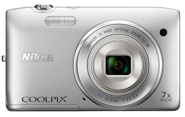 Nikon Coolpix S3500 ships this month with 20MP CCD, lensshift VR for $139