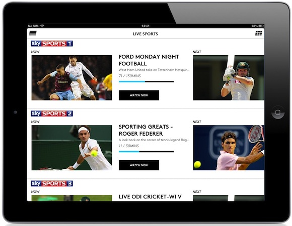 Sky Sports comes to Now TV 999 for 24 hours