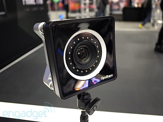 DNP OptiTrack shows off $3,700 PRIME 17W mocap cam, ideal for small spaces