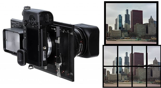 Fotodiox brings 150megapixel  images to your NEX, medium format lens not included