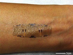 Researchers print biometric sensors directly on skin, make wearable health monitors more durable