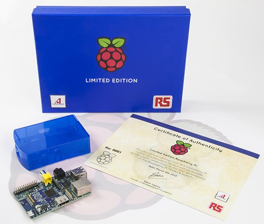 Raspberry Pi coming in limited edition blue, you\'ll have to win it to own it