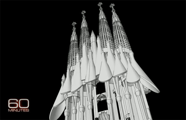 Gaudi's Sagrada Familia inches toward completion, with help from cuttingedge aeronautical software